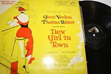 New Girl In Town - Gwen Verdon Thelma Ritter LP (G) 12""