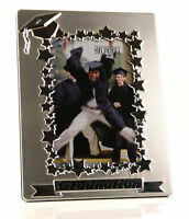 Two Tone Satin Silver Graduation Photo Frame Gift 60319