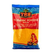 100g Kurkuma Pulver TRS BRAND Turmeric Powder Haldi Curcuma Powder Vegan Halal