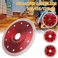 105m/115m/125mm Diamond Concrete Stone Brick Cutting Blade Disc Porcelain Tile