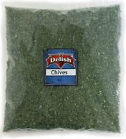 Dried Chives All Natural by Its Delish, 8 Oz (Half Pound) Bag