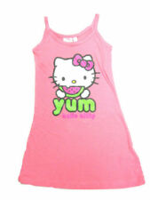 Vêtements robe rose Hello Kitty pour fille de 2 à 16 ans