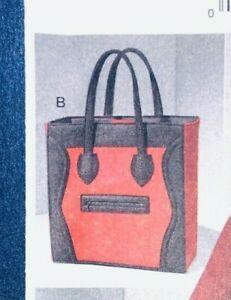 VOGUE 9074 Sew Pattern TOTE BAG Carrier - uncut