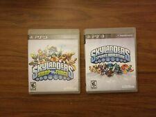 Play Station 3 Skylanders LOT Of 2 games(Spyro's adventure & Swap Force.)