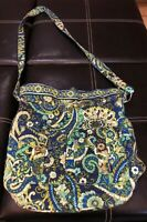 VERA BRADLEY Quick Draw Rhythm and Blues Drawstring Purse Bag