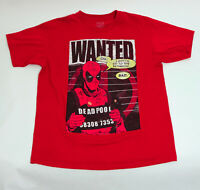 EUC Dead Pool Marvel Graphic T-Shirt US Large Red