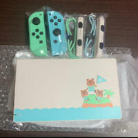 Nintendo Switch Animal Crossing joy-Con (L) / (R) and straps&dock only