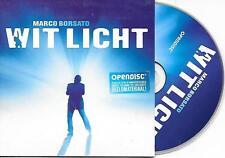 MARCO BORSATO - Wit licht CD SINGLE 2TR Enh Dutch Cardsleeve 2008