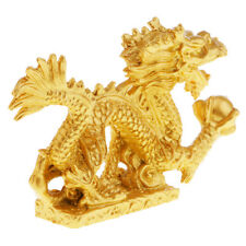 Chinese Feng Shui Dragon Statue Sculpture Attract Wealth & Good Luck Gift #1