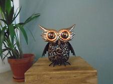 Silhouette Solar Owl Lights Garden Sculpture by Smart Garden