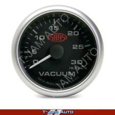 Holden HSV VY VZ VE SAAS Vacuum Gauge Black Face 52mm