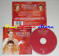 CD THE PRINCESS DIARES 2 2004  WALT DISNEY 5050467-5225-2-7 mc lp dvd