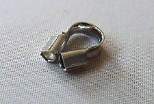 50 Schutzkappen Drahtschutz für Schmuckdraht 5 mm silber wire guardian 2477