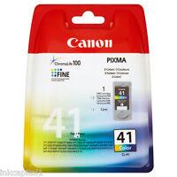 Canon 1x cl-41, CL41 COLOR ORIGINAL OEM Pixma Cartucho de tinta