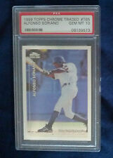 Alfonso Soriano  Rookie 1999 Topps Chrome Traded #T65  PSA 10 Gem Mint