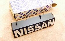 Datsun Nissan Bluebird U11 Grille Emblem name plate 62890-37E70 -chrome letters