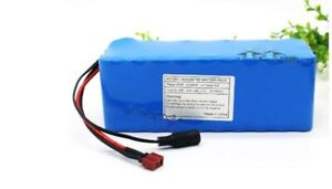 24V 20ah Li-ion Rechargeable Ebike Battery Pack & Charger NEW
