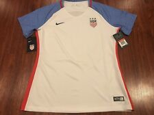 2016 Nike Women's United States Home Soccer Jersey Large L US USA USWNT