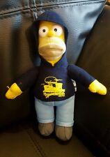 Homer Simpson 20th Century Matt Groening giocattolo morbido - 2006-circa 10 in (ca. 25.40 cm) in buonissima condizione