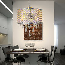 Hot Crystal Ceiling Light Pendant Lamp Lighting Fixture Chandelier 4 lights HW