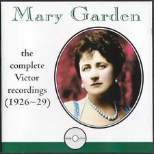 Mary Garden CD - Complete Victor Recordings (1926-29)
