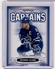 WENDEL CLARK 06/07 Parkhurst CAPTAINS Insert Card #212 Toronto Maple Leafs /3999