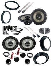 IMPACT Set 6 arcas Para FIAT PANDA 03>12 con adaptadores Y SOPORTES
