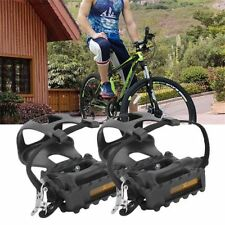 Unbranded Track Bike Toe Clip Bicycle Pedals