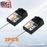 2Pcs FlySky FS-GR3E AFHDS 2.4G 3CH Receivers For GT2B/GT2/GT3B/GT3C Transmitter