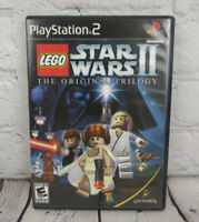 LEGO Star Wars II The Original Trilogy (Sony PlayStation 2, 2006) PS2 Video Game
