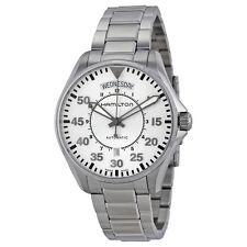 Hamilton Khaki Stainless Steel Mens Self Winding Automatic Watch H64615155-AU