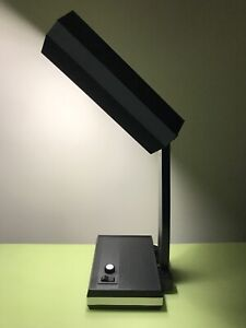 UNIQUE BIG MID CENTURY MODERN ADJUSTABLE WORKING DESK LAMP WITH DIMMER POLAND
