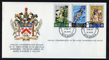 St. Christopher, Nevis & Anguilla - 1977 QE II Silver Jubilee Comm. Cover