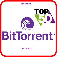 25000 BitTorrent (BTT) CRYPTO MINING-CONTRACT ( 25000 BTT ), Crypto Currency