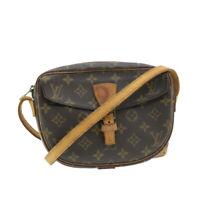 LOUIS VUITTON Monogram Jeune Fille PM Shoulder Bag M51227 LV Auth 16344