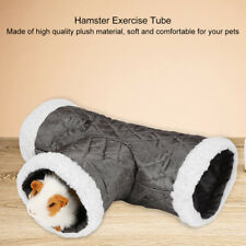 3 Way Hamster Tunnel Tube Rabbit Ferret Guinea Pig Small Animal Exercise Toy UK