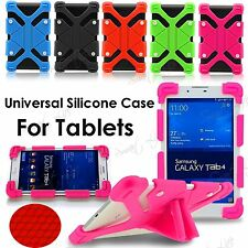 """Niños Universal Silicona Soporte Funda Soporte Para 7"""" -12"""" Tableta Android IPAD"""