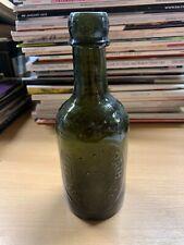*RARE* LLOYD & YORATH (NEWPORT) WELSH ALE BEER GLASS BOTTLE (IMPERIAL PINT) (P4)