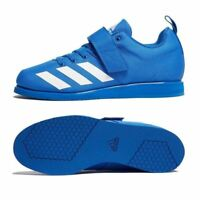 Adidas Powerlift 4 Weightlifting Shoes Mens Womens Blue Powerlifting Trainers