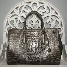 Brahmin Blake Satchel Moonscape Melbourne Leather $425