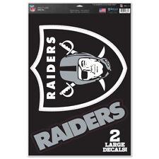 NFL Oakland Raiders Window Clings Decal 11x17 Big Logo