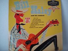 LP 25cm BILL HALEY AND HIS COMETS-LIVE IT UP + 7