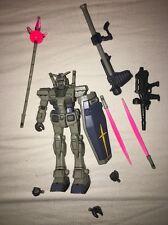 "Gundam 0079 RX-78-3 G-3 Gundam 4.5"" Action Figure Bandai 1999 Loose"