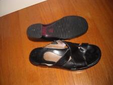 ARIAT Women's Black Soft Leather Sandals size 8M