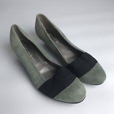 557f8dd7852 Dana Buchman Womens Size 7.5 Medium Gray Black Wedge Shoes