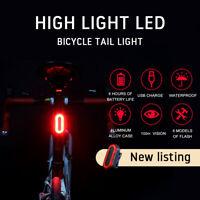 Torcia ricaricabile USB per bicicletta Posteriore per a LED bici