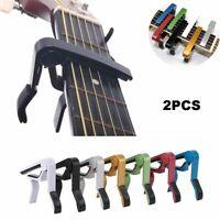 clamp clé guitare acoustique musique rapide changement ukulélé capo