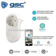 Ladron base enchufe inteligente Wifi 2500w programador temporizador interruptor