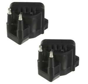Set of 2 Delphi Direct Ignition Coils for Buick Cadillac Chevy GMC Isuzu L4