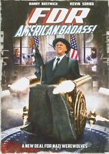 FDR: American Badass,DVD, 2012, New, Factory Sealed, Kevin Sorbo, Barry Bostwick